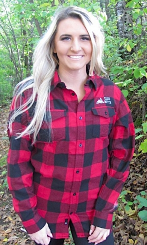 Buffalo Red/Black Plaid Flannel Sled Bitch L/S 2