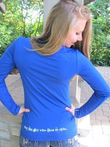 Royal Blue Sled Diva Tech Top- Close-Out 3