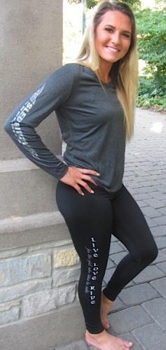 Black LLR Yoga Pant/Fitted 2