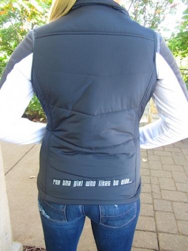 Grey  Sled Diba Puff Vest 6