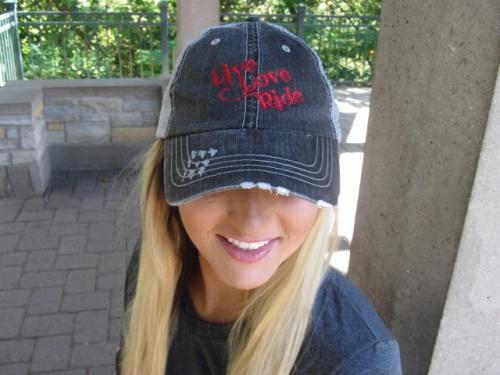 Live Love RIDE -Bold on Trucker Hat 2