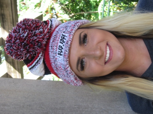 Sled Edge Apparel Pom Beanie 3