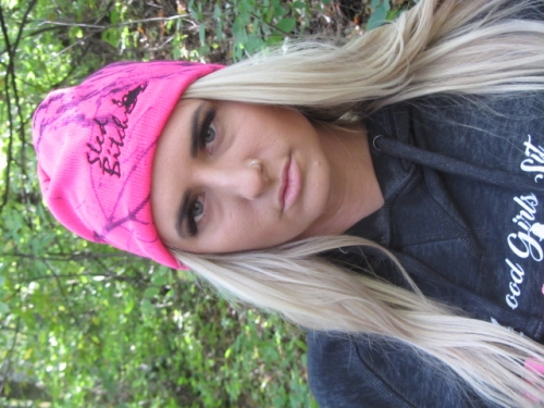 PINK Camo - Naked North Sled Bitch Skull Cap 2