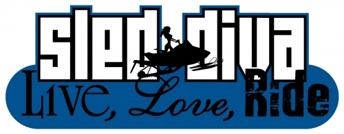 Live Love RIDE - Sled Diva Decal 3