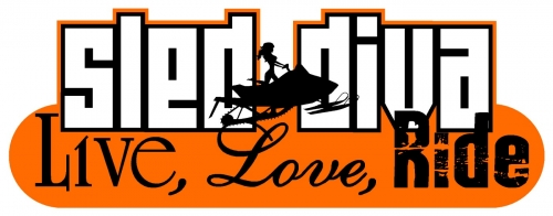 Live Love RIDE - Sled Diva Decal 6