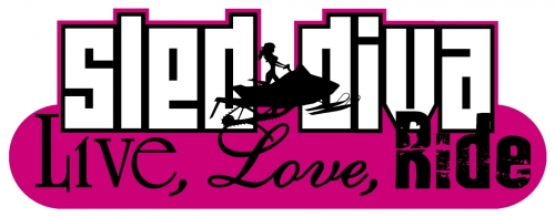 Live Love RIDE - Sled Diva Decal 4