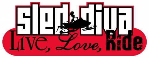 Live Love RIDE - Sled Diva Decal 2