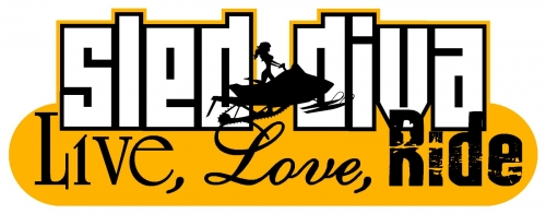 Live Love RIDE - Sled Diva Decal 5