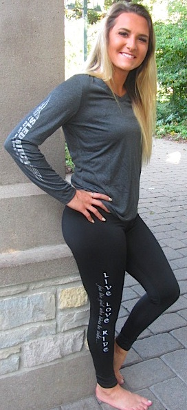 Ass Fast Heather Charcoal Long Sleeve