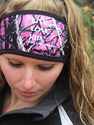 Muddy Girl Head Band - Live Love RIDE SOLD-OUT