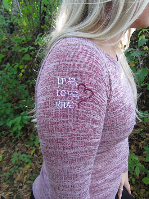 Vino Heather L/S Ladies Crewneck Sweater LLR