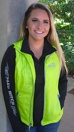 Lime Green/Charcoal Sled Bitch Vest $71 HOT Buy!