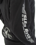 Ass Fast Sled Bitch Zip  Hoodie