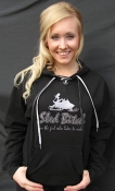 $20 Blk Sled Bitch Bling Hoodie X-Small