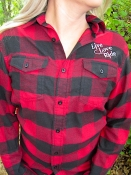 Buffalo Red/Black Flannel L/S Live Love RIDE Shirt