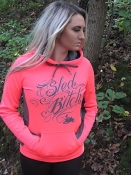 Hot Coral And Smoke Grey SB Tech Hoodie
