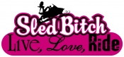LLR Sled Bitch Reflective Decal- NEW