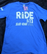MN RIDE EST 2013 - Sled Edge Apparel Youth T *New