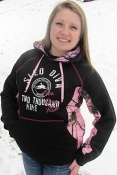 Pink Forest Ladies Sled Diva RIDE Soft Shell Pull-Over