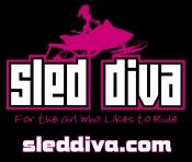 Sled Bitch Or Sled Diva Garage Banner - Custom order