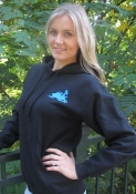 """Keep It Wet""  H2o Pull-Over Hoodie - Blue Graphics"
